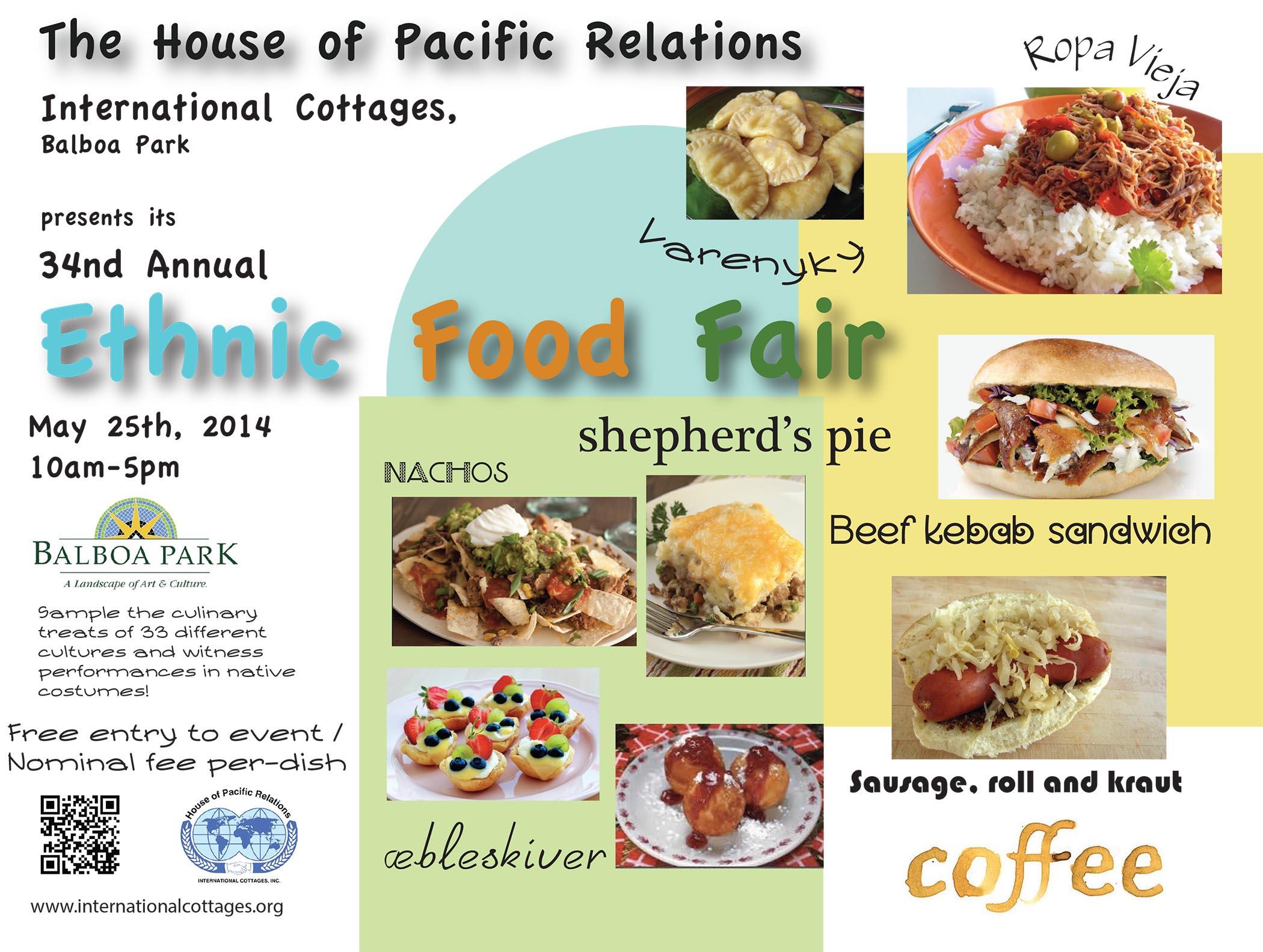 Ethnic Food Fair (05/25/2014)
