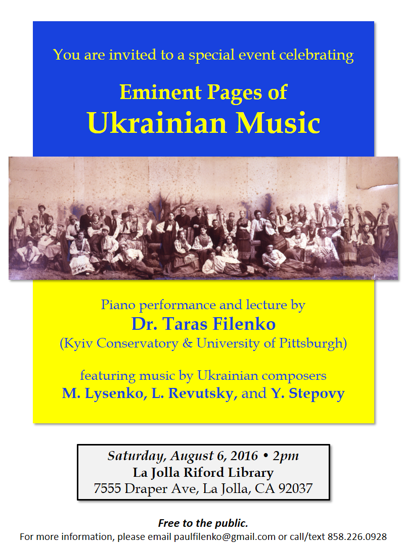 Ukrainian Music Event